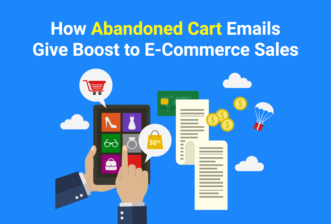 Abandoned cart email templates
